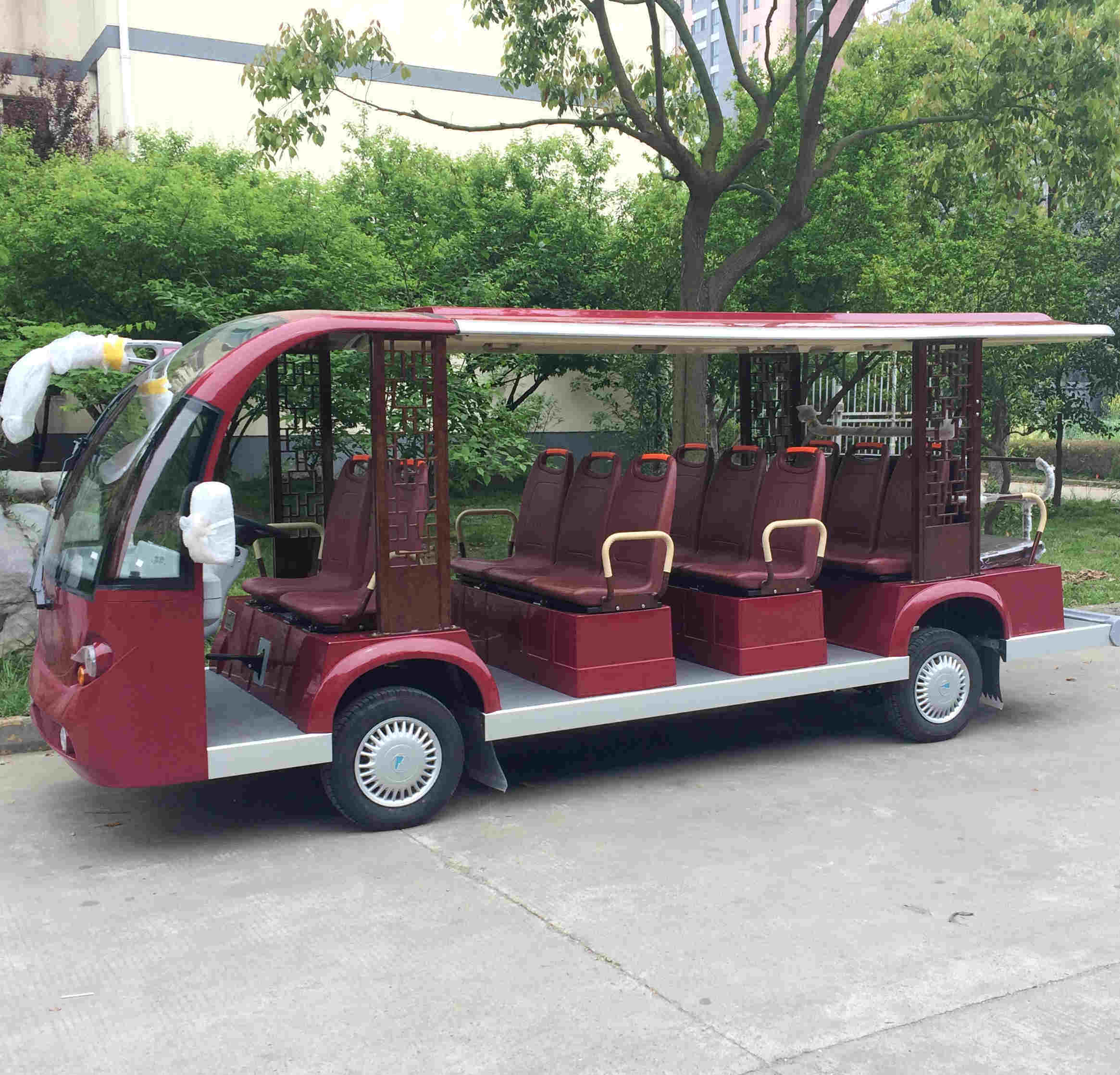 Electric Shuttle Bus, Sightseeing Bus pictures & photos