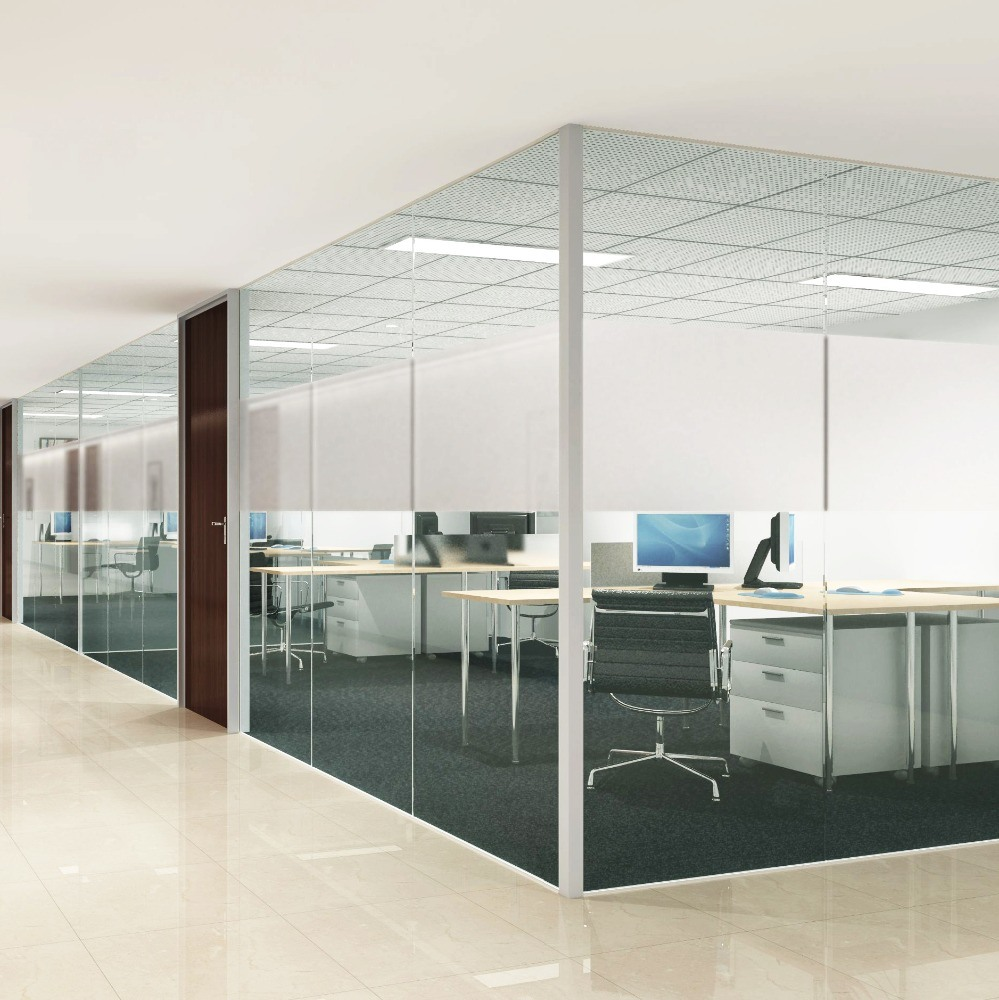 China Removable Modern Office Building Design Glass Walls Meeting Room Glass Wall China Glass Walls Partition Wall