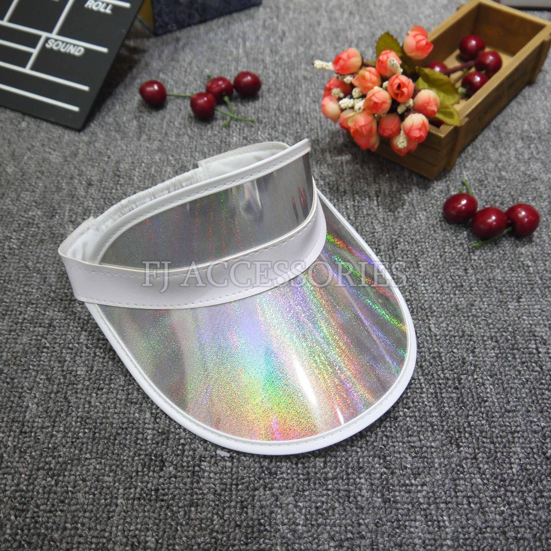 Fashion Portable Plastic PVC Sun Visor Cap pictures & photos