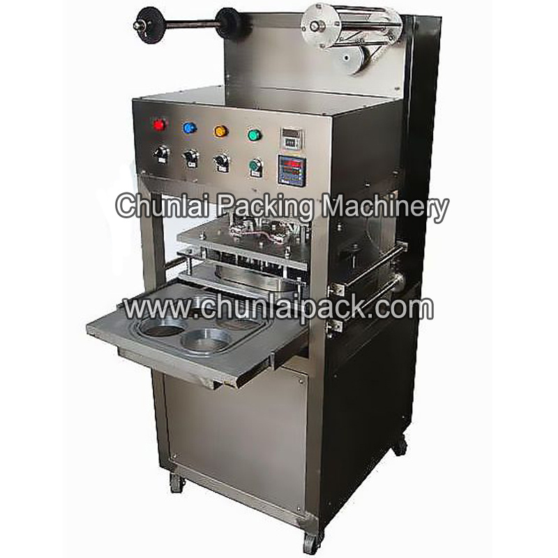 e090fbc9319 Paper Cup Plastic Packaging Material Nitrogen Sealing Machine Kis-4 Gas  Flush Cup Sealer for Tray Sealing Machine