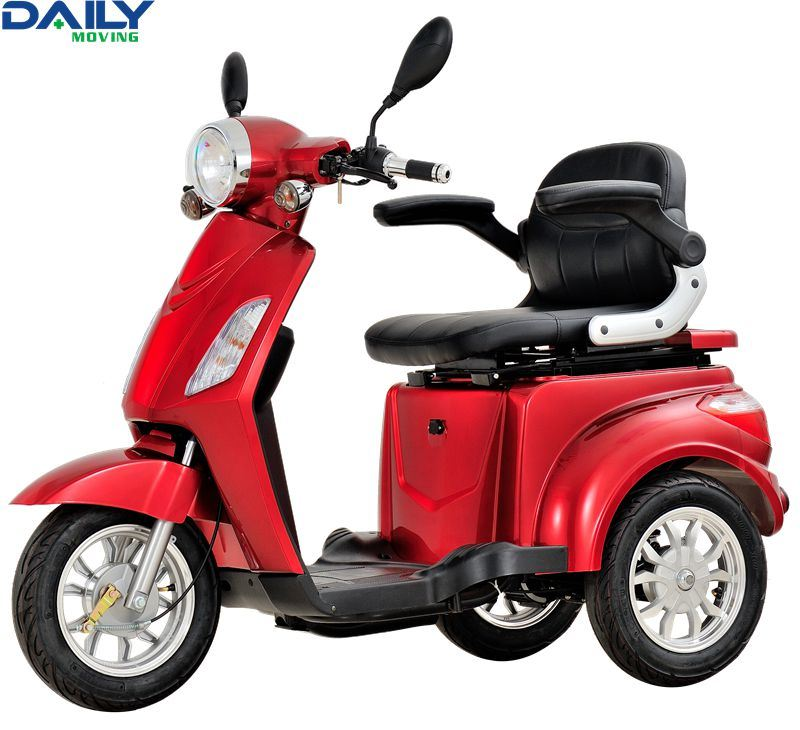 16inch 3 Wheels off Road Electric Mobility Scooter with 1000W Power