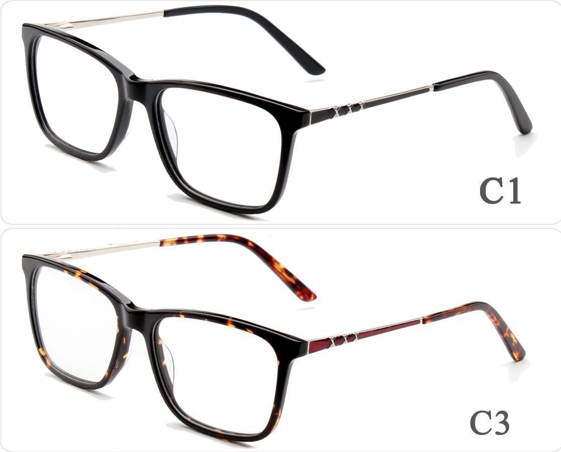 China Online Ready Stock Custom Design Square Frame Acetate Glasses ...