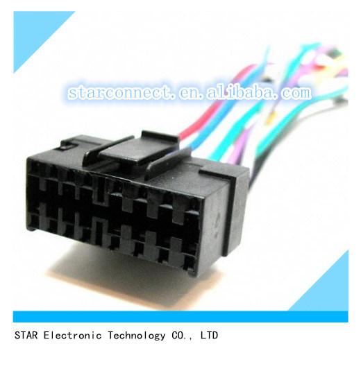 [Hot Item] Best Quality Kits Jvc 16 Pin Original Head Unit Radio Wiring on