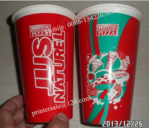 Manual Paper Cup Screen Printer