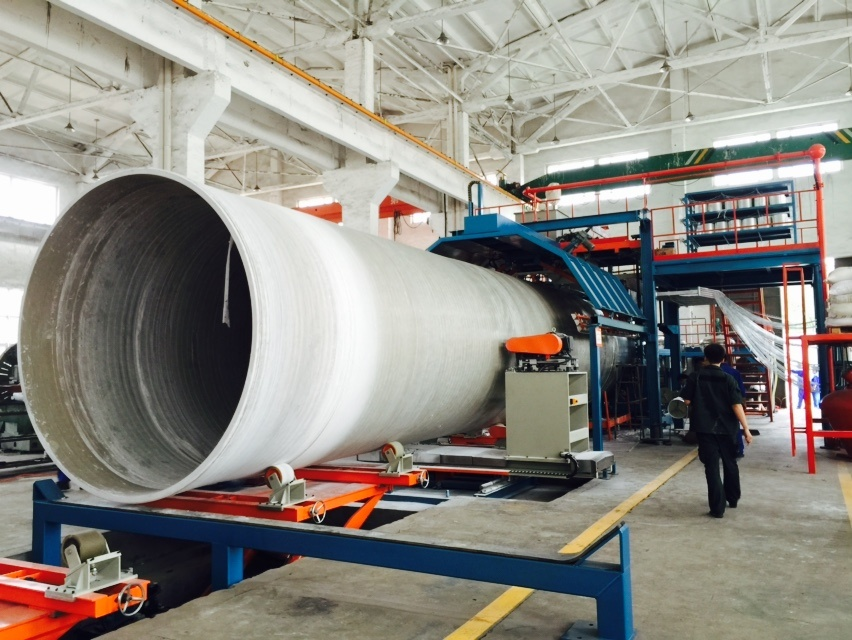 Continuous Winding GRP Pipe Production Line