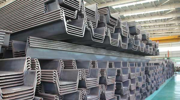 China Good Quality Steel Piling/ Steel Sheet Pile - China Sheet ...