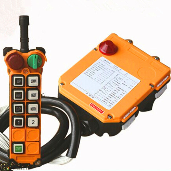 8 Channels Hoist Crane Radio Remote Control System 220V AC