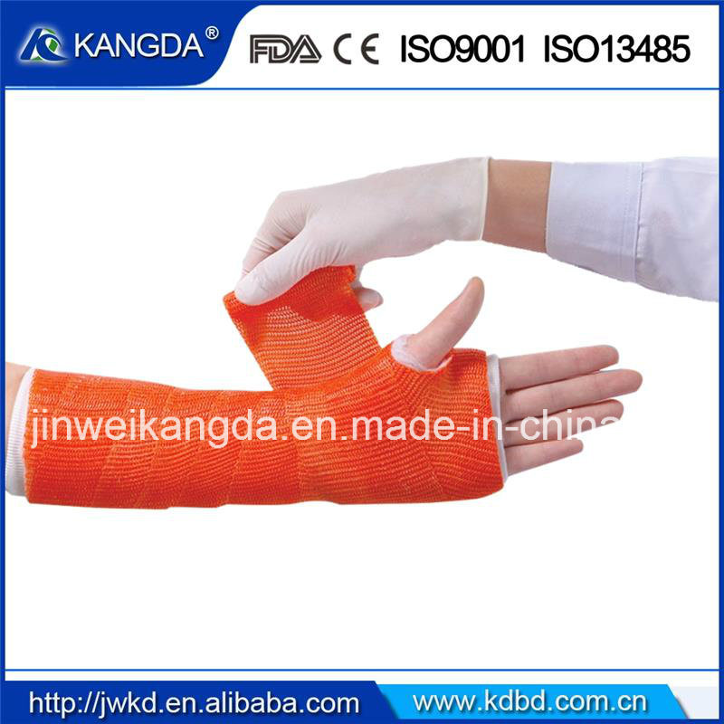 Waterproof Orthopedic Casting Tape with Ce FDA ISO Manufacturer