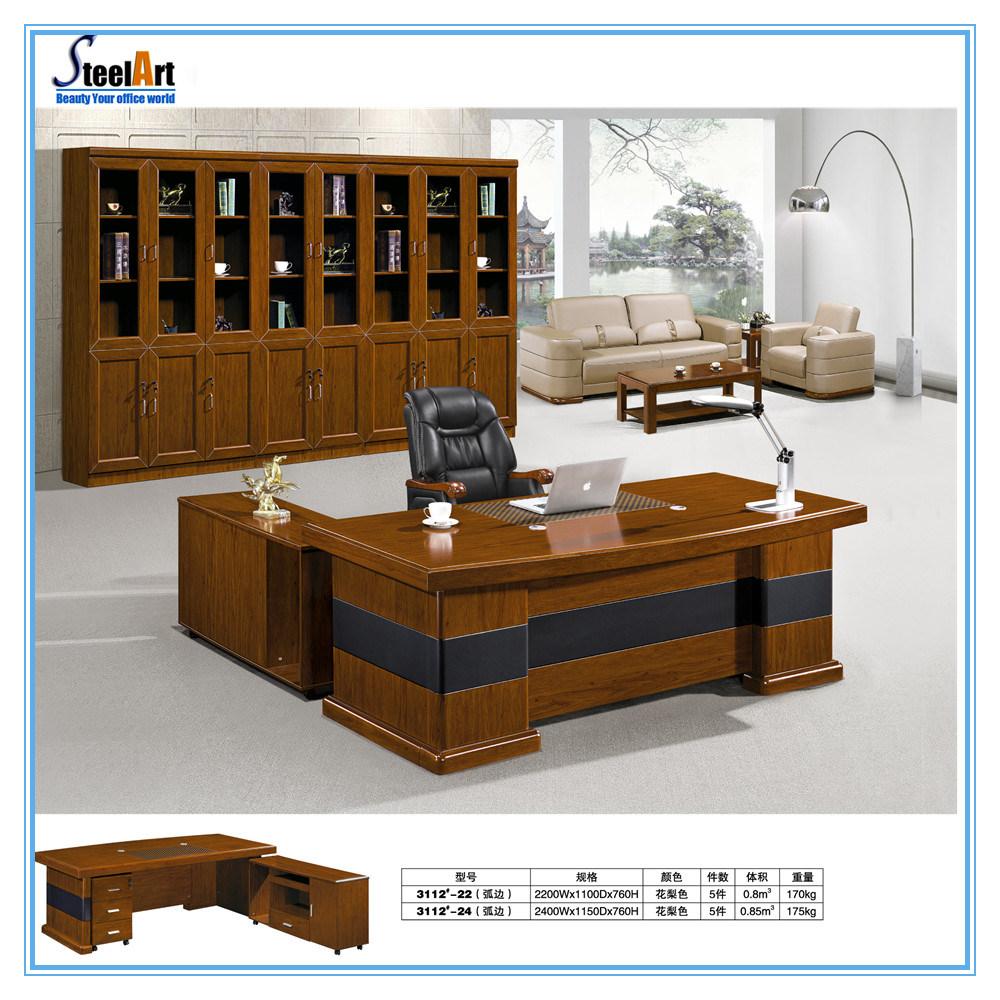 [Hot Item] Modern Professional Wooden CEO Office Desk (FEC-30)