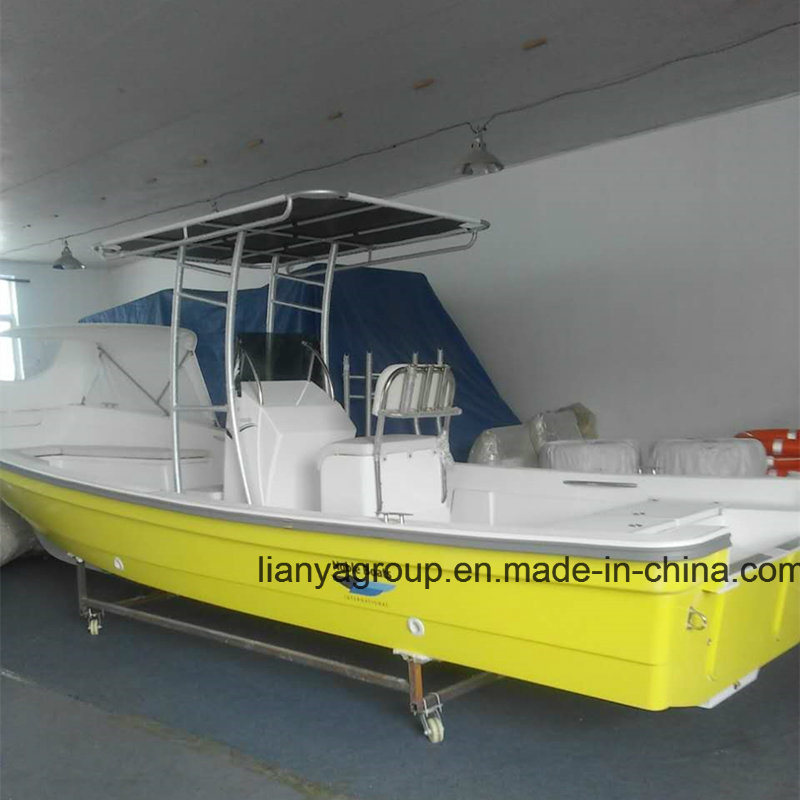[Hot Item] Liya 19FT 25FT 10 Passenger Fisher Boat Fiberglass Boat Malaysia