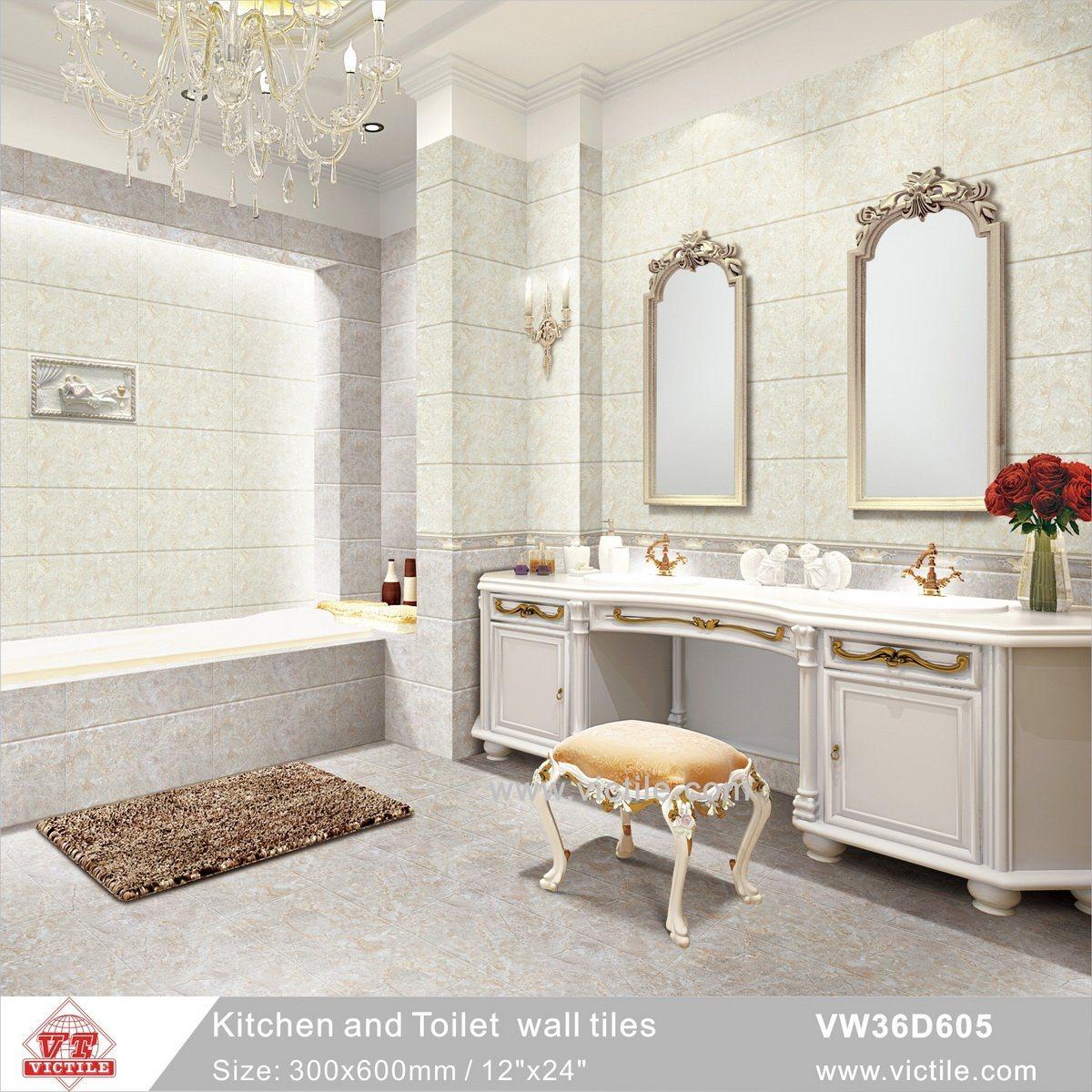 China Foshan Light Gray Building Material Ceramic Kitchen Bathroom ...