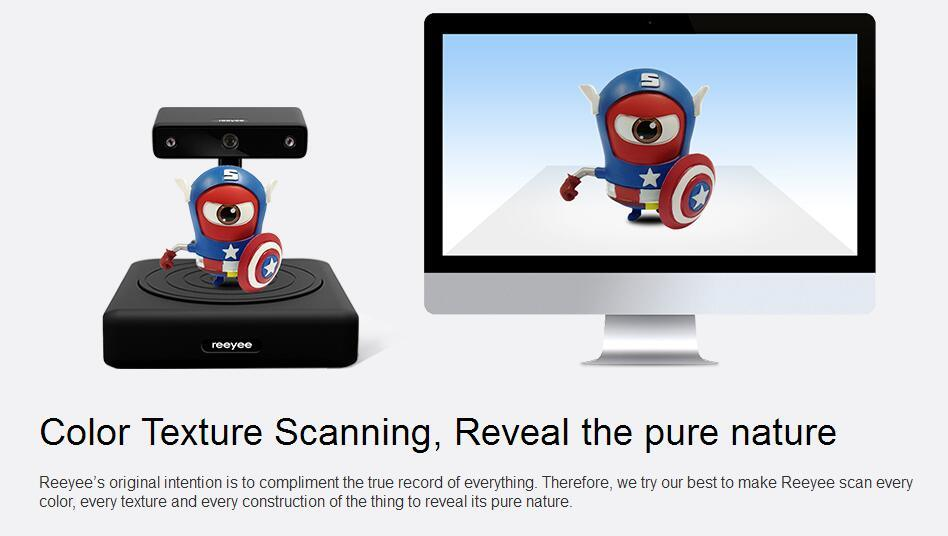 High Precision Best Price Desktop 3D Scanner in Industrial Grade pictures & photos