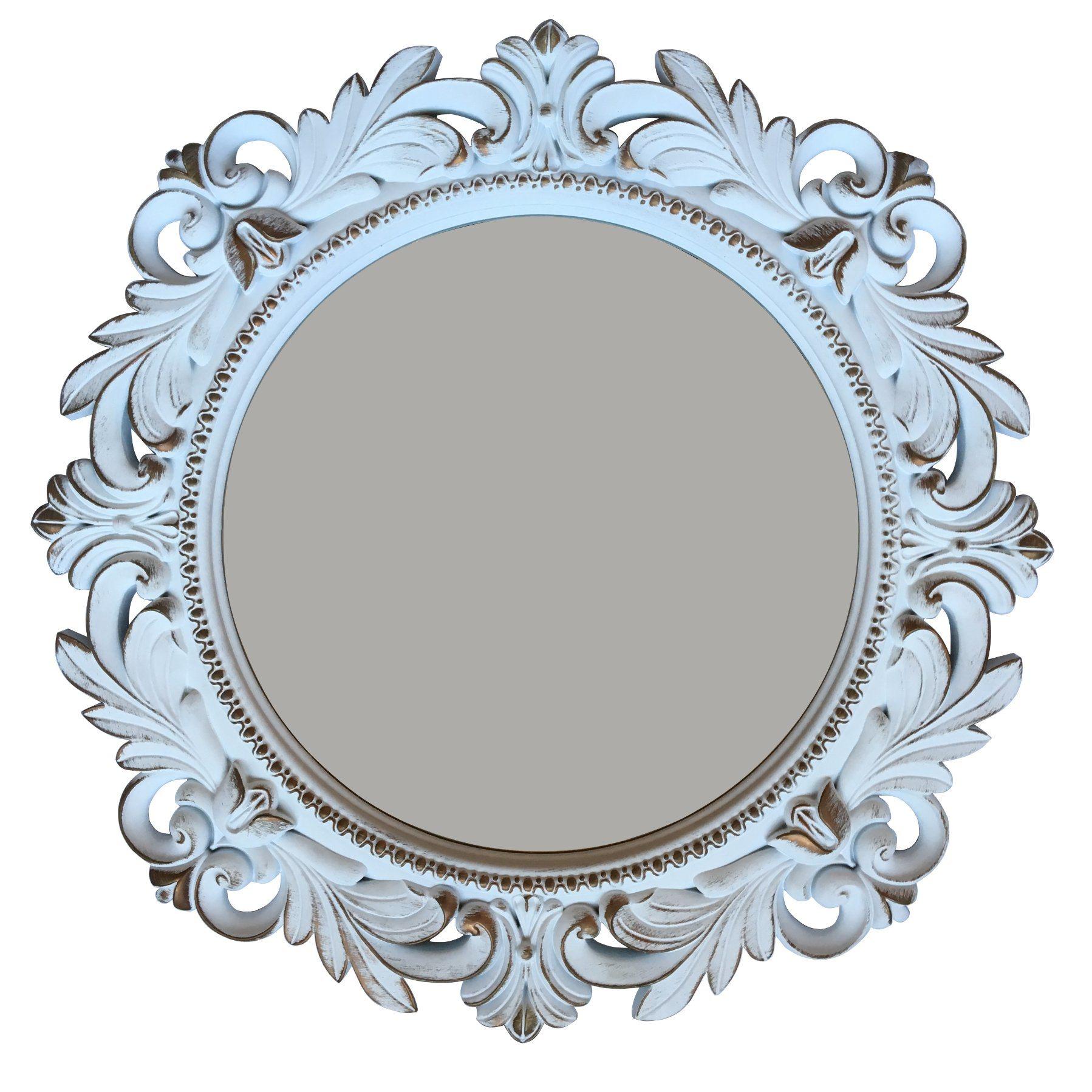 Plastic Wall Decor 20inch Frame Mirror