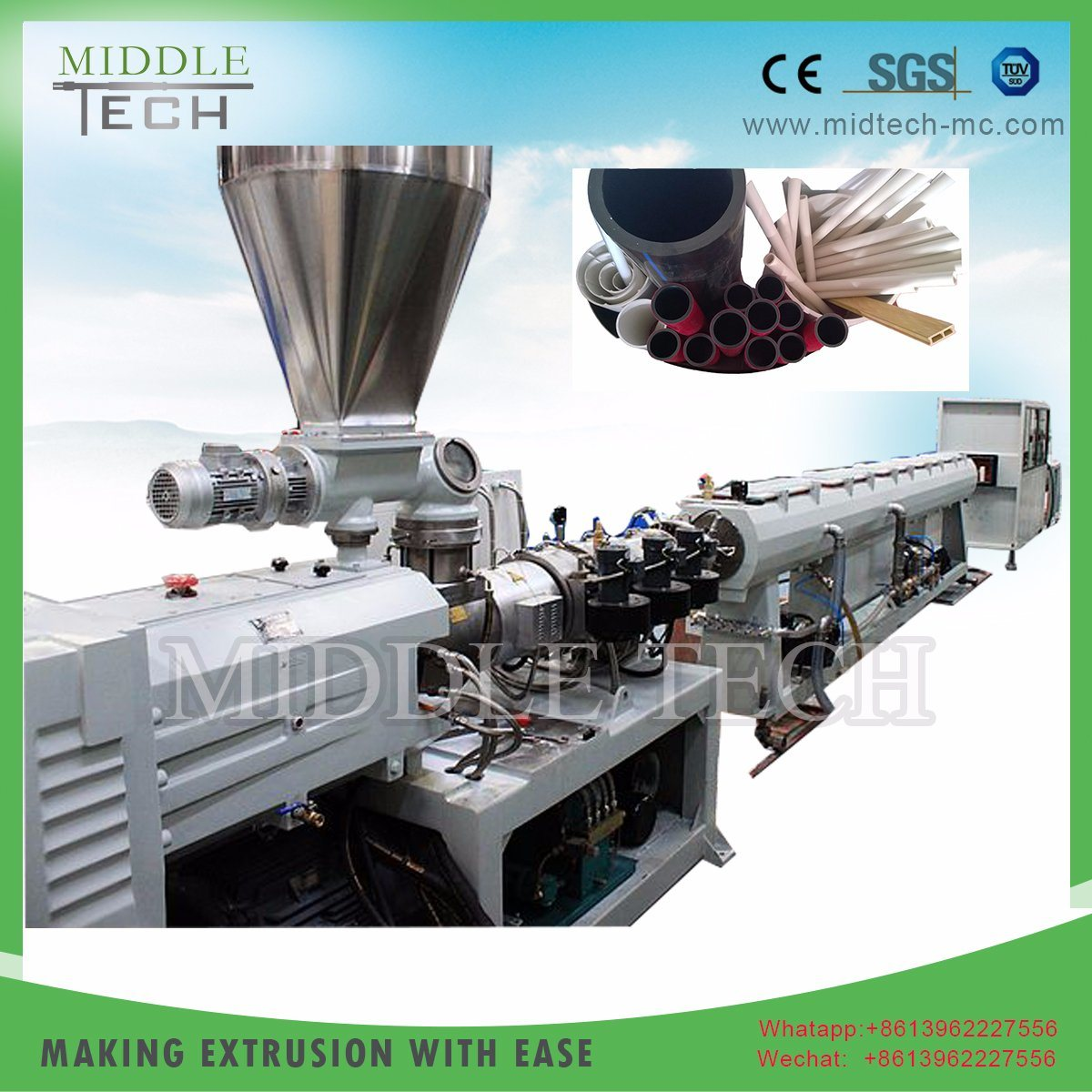 China Machine Extrusion Manufacturer for PVC Electrical/Electricity ...