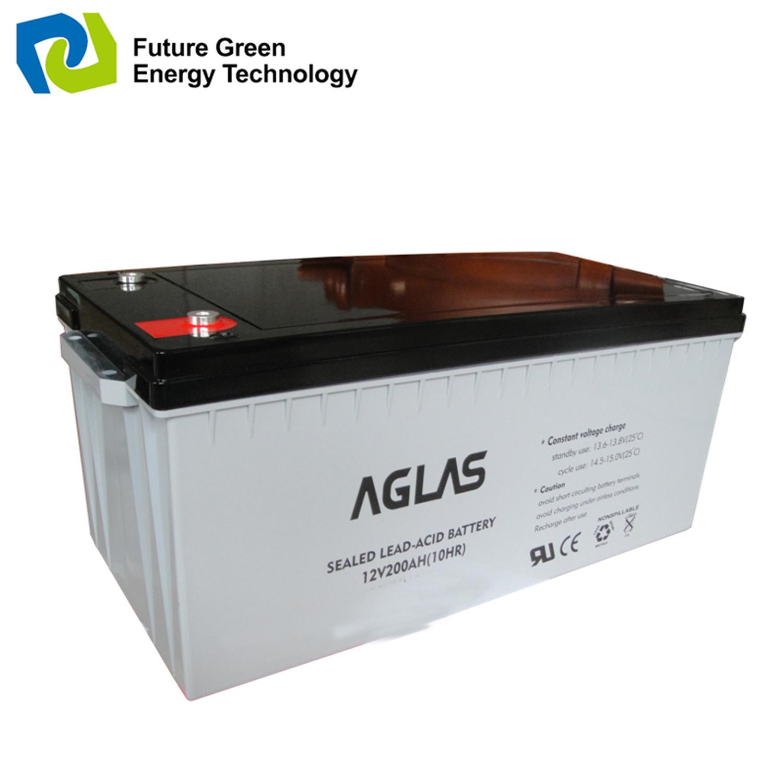 China 12volt 200ah Solar Valve Regulated Sealed Lead Acid Power 12 Volt Supply Battery
