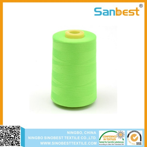 Cotton/Poly Corespun Sewing Thread for Jeans pictures & photos