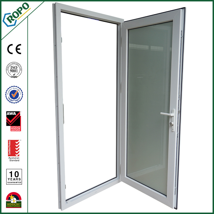 China Double Gl Pvc Soundproof Doors Interior French White Door