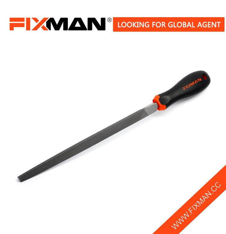 [Hot Item] Fixman Steel Three Square File, Triangle Sides Hand Triangular  Metal File Tool