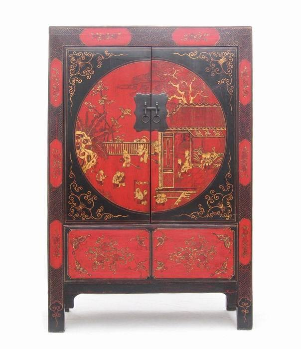 Chinese Antique Furniture Large Cabinet Ab028