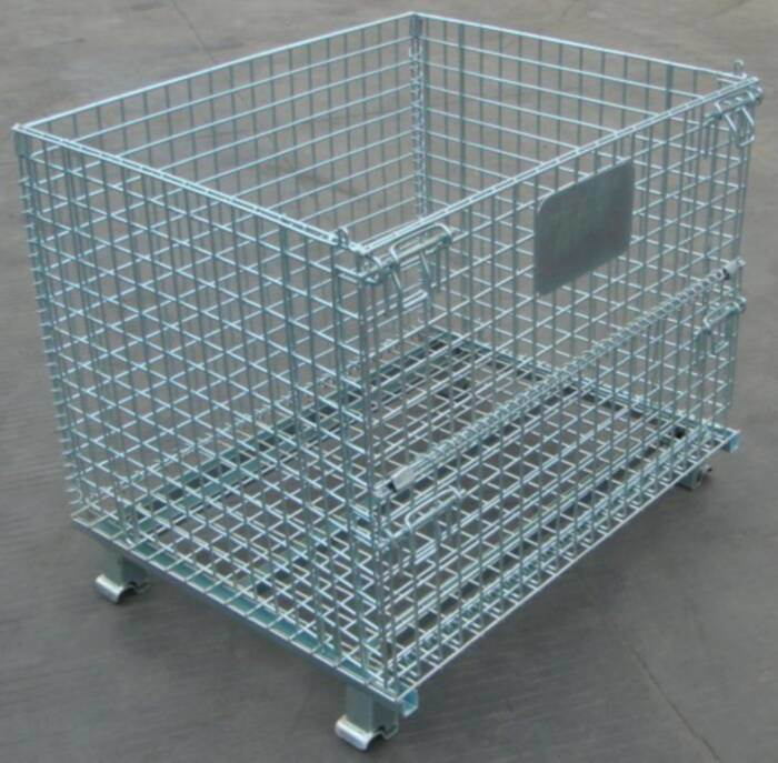 China Wire Mesh Cage / Storage Cage - China Wire Bins, Welded Wire ...