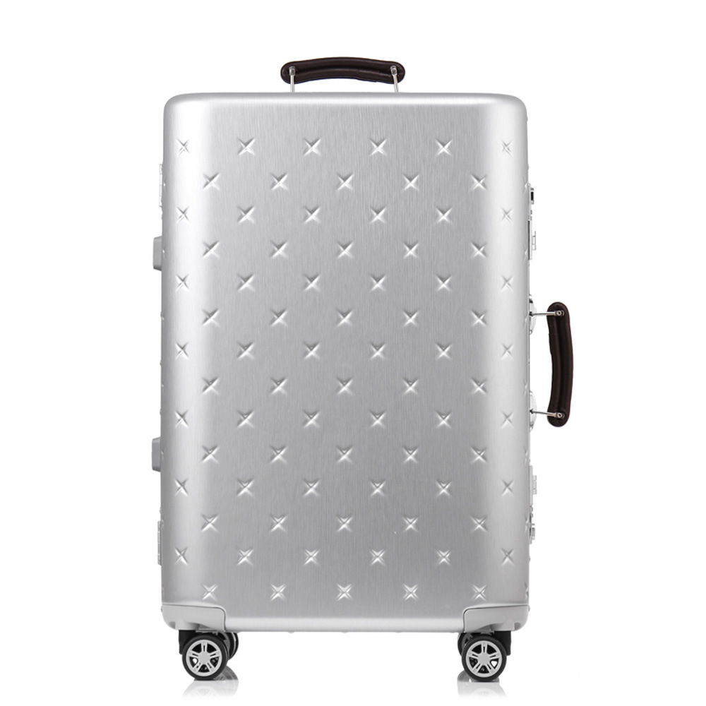 Aluminium Frame Luggage and Trolley of ABS and PC