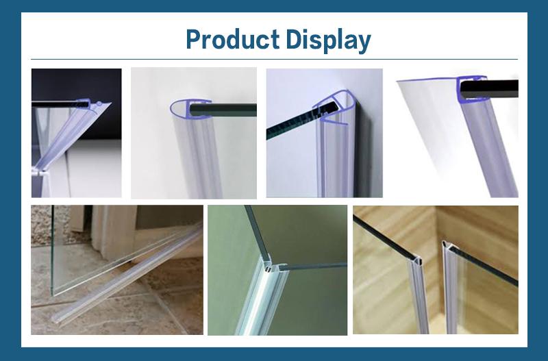90 Degree PVC Water Stop Door Magnetic Bar PVC Seul