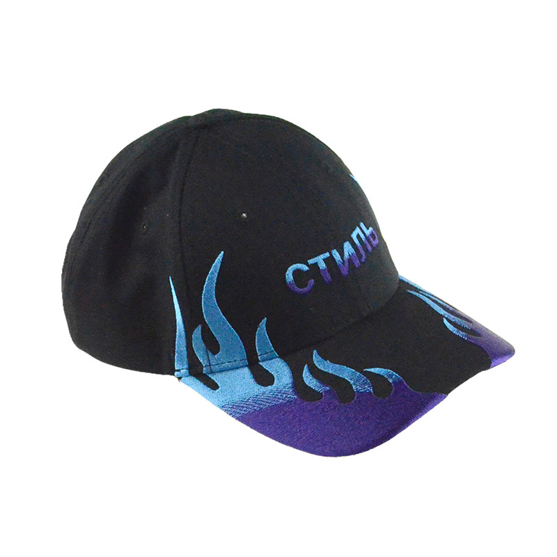 China Wholesale Racing Sports Caps Hat Custom 3D Embroidery Navy