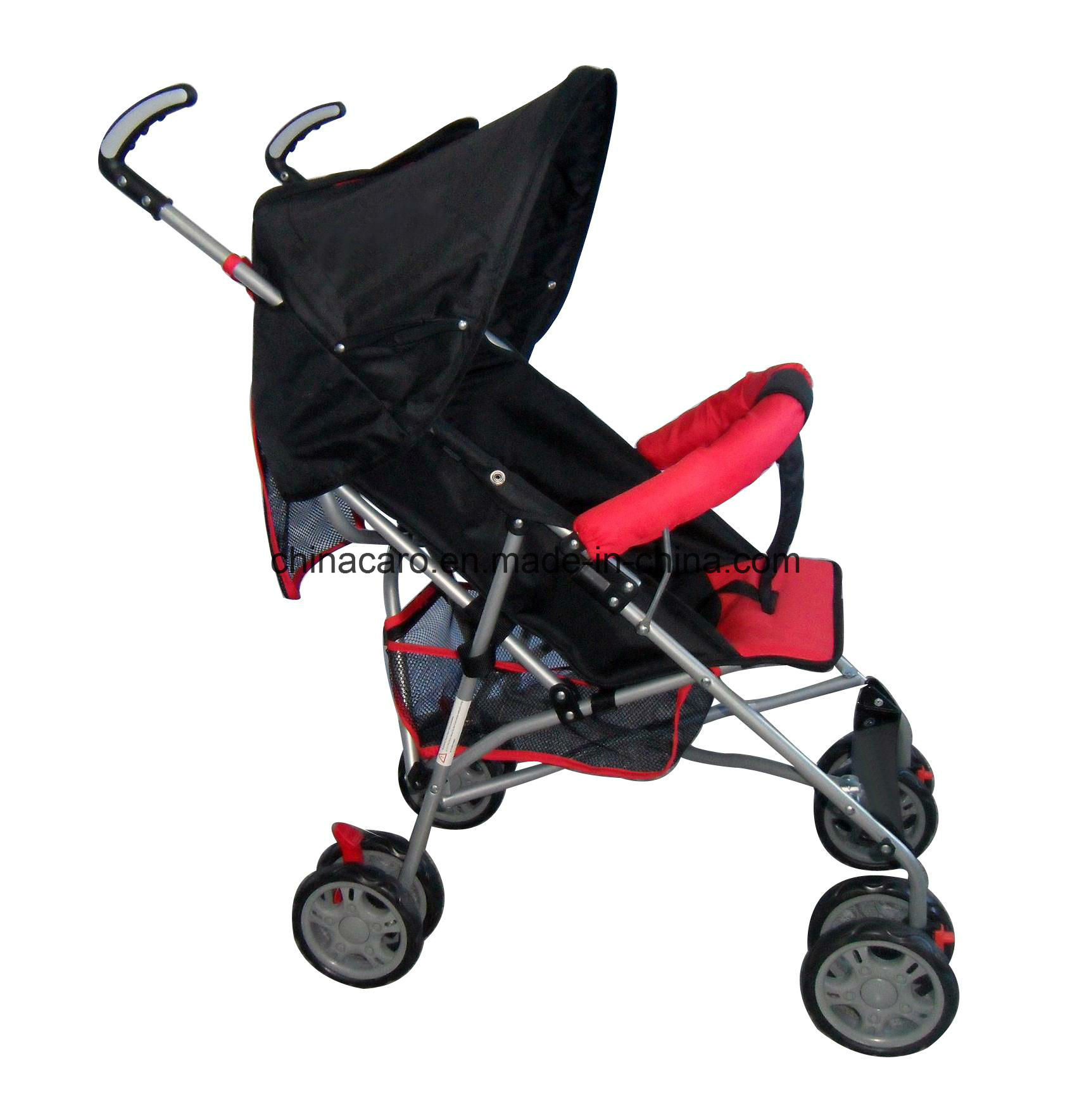 China Light Weight Steel Frame Baby Stroller with Ce ...