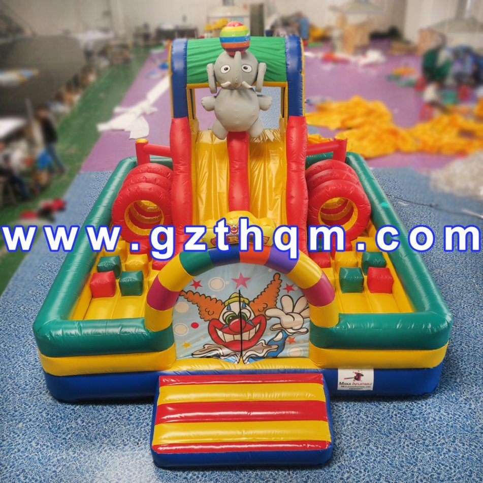 Inflatable Elephant Animal PVC House Castle Bouncer/Inflatable Castle Fun Bouncer