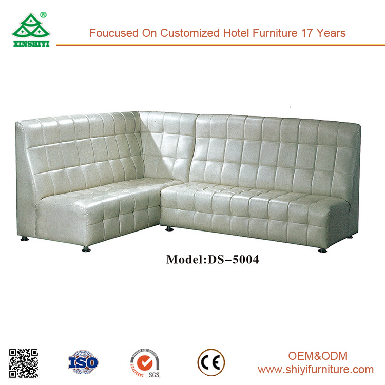 Customized Leather Living Room Corner Combination Sofa pictures & photos