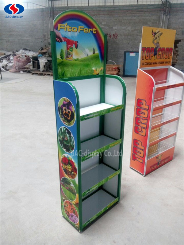 Five Layers Metal Display Stand, Exhibition Stand, Advertising Rack pictures & photos