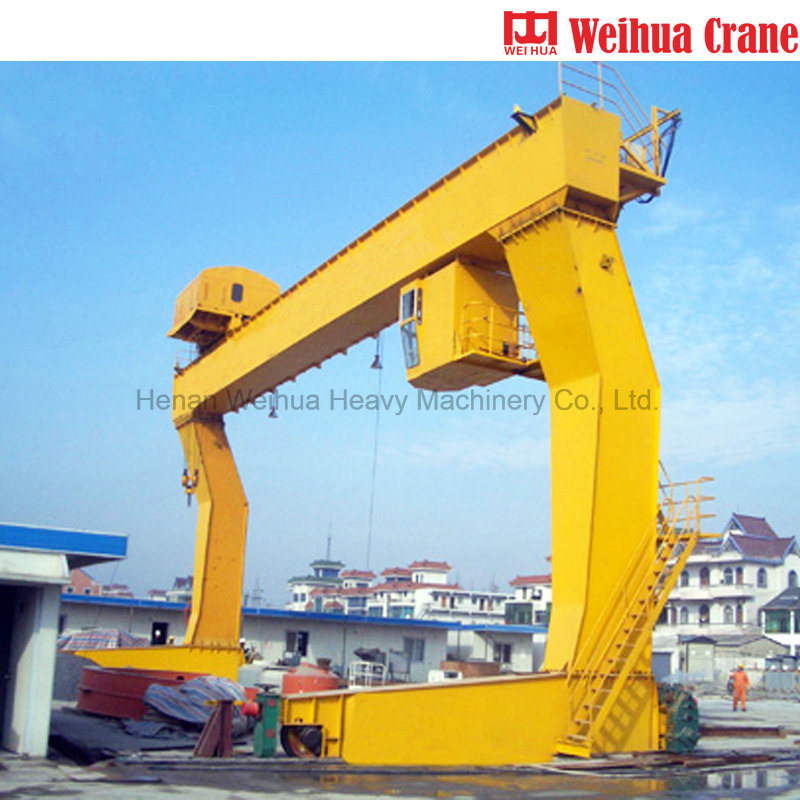 Weihua 10 Ton Electric Wire Rope Hoist Gantry Crane pictures & photos