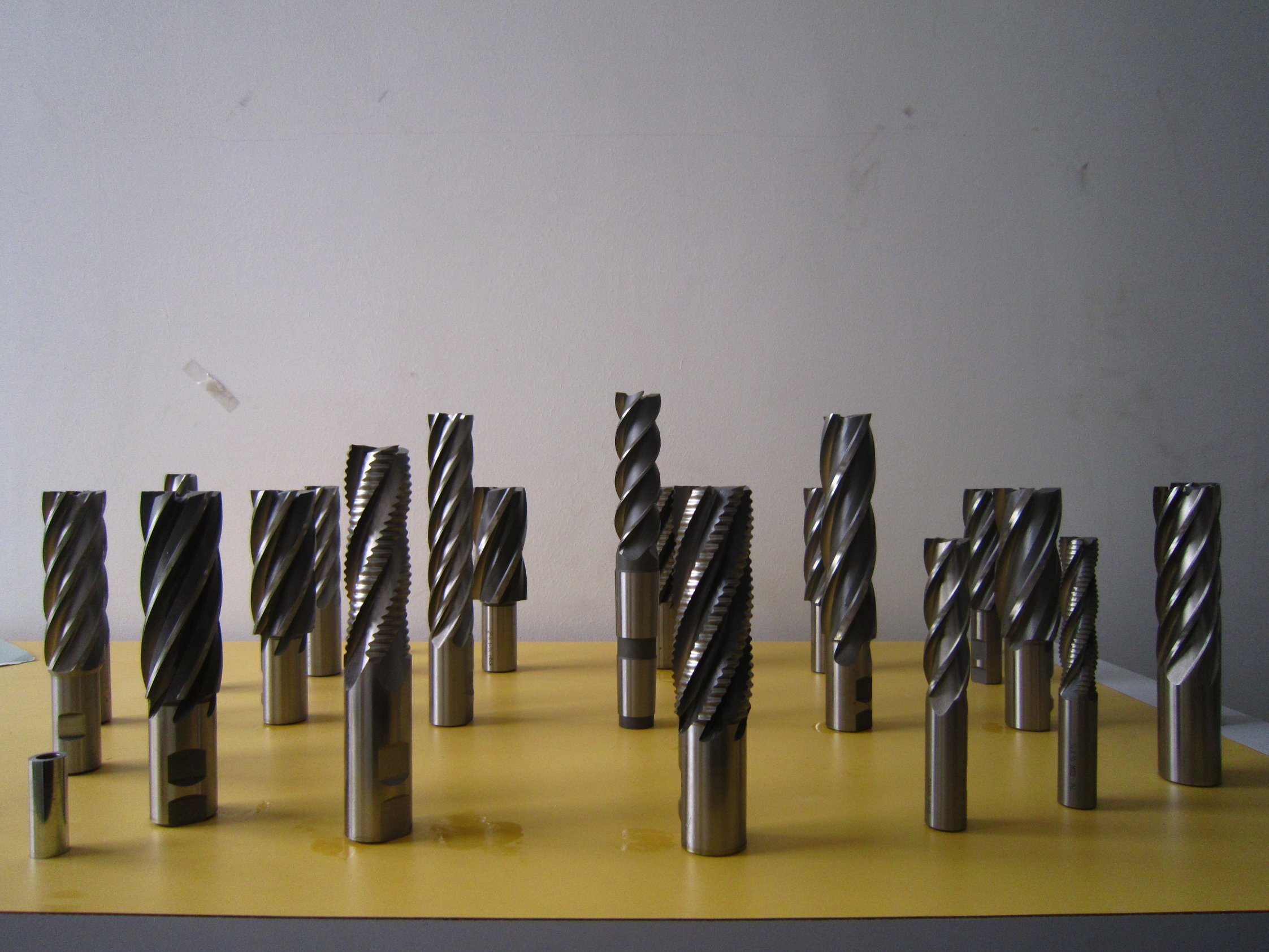 4 Flute Single End Mill