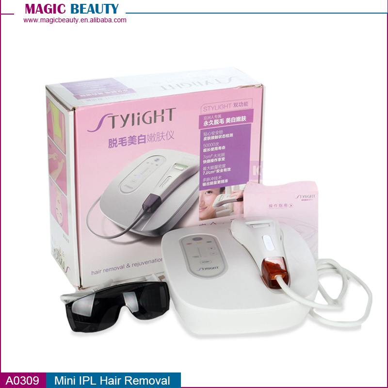 Mini IPL Skin Rejuvenation Machine Anti Aging Home for Sale