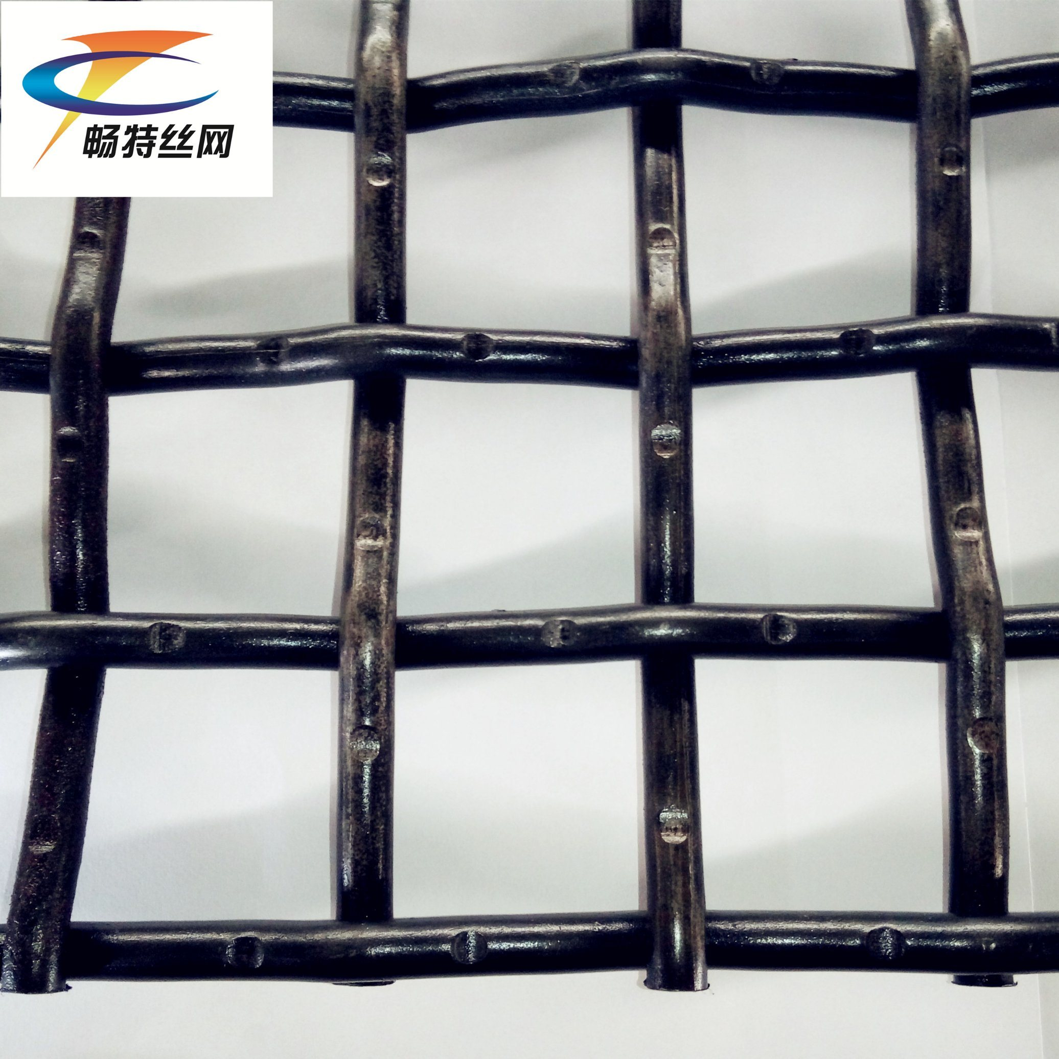China Crimp Screen Used in Mining Aggregate Granite - China Carbon ...