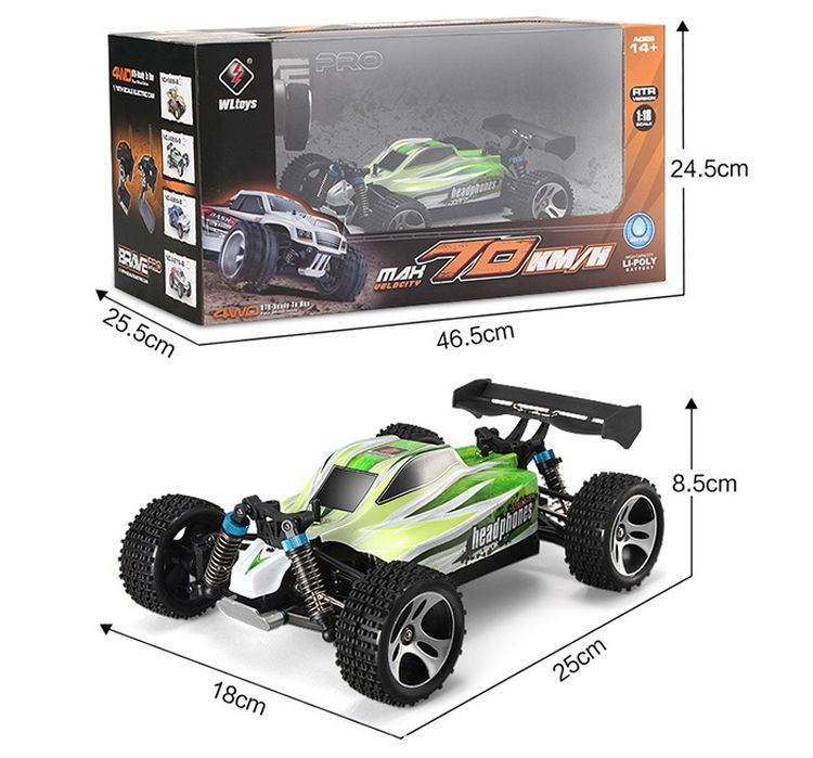 312959ba-1 - 18 Scale 70km-H High Speed RC Car pictures & photos