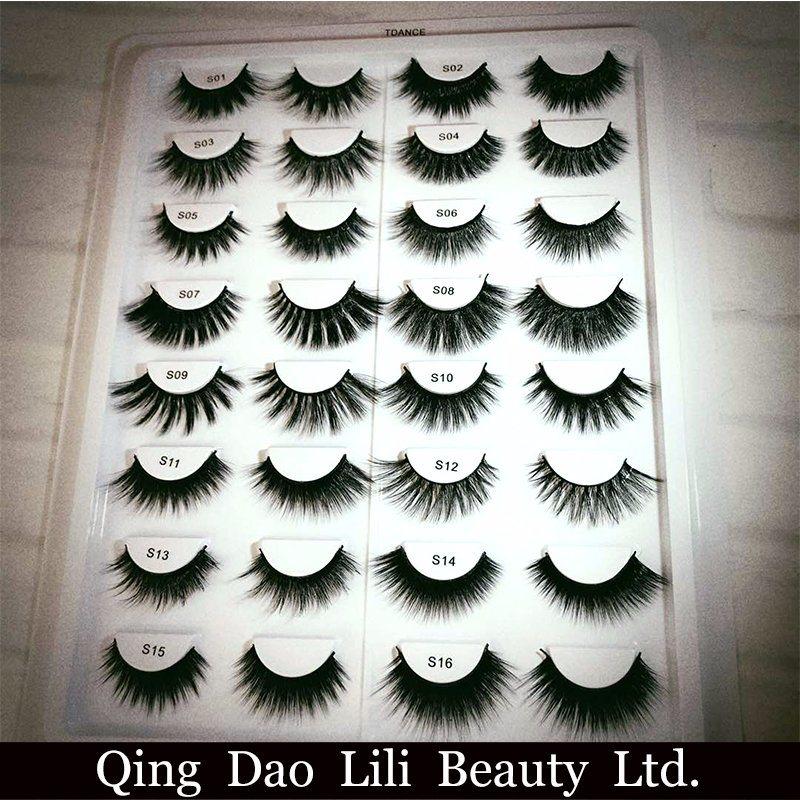China Best Seller False Eyelash Manufacturer 3d Private Label Silk