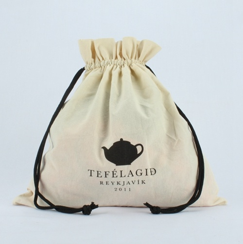 1ab33f0bb China Promotional Small White Drawstring Cotton Pouch with Custom ...