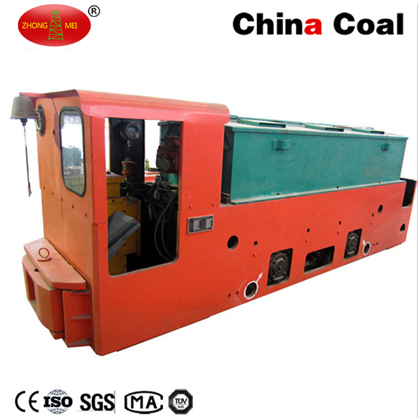 Cay12/7gp Narrow Gauge 12t Underground Coal Mining Battery Operated Tunnel Locomotive pictures & photos
