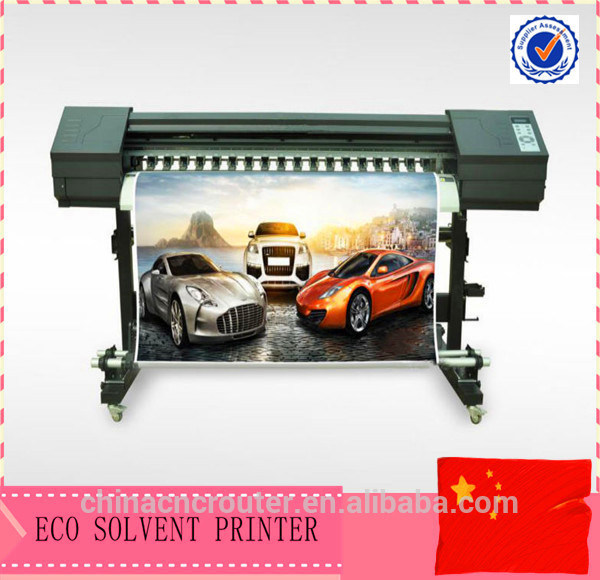china eco solvent dx7 head indoor outdoor wall sticker printing