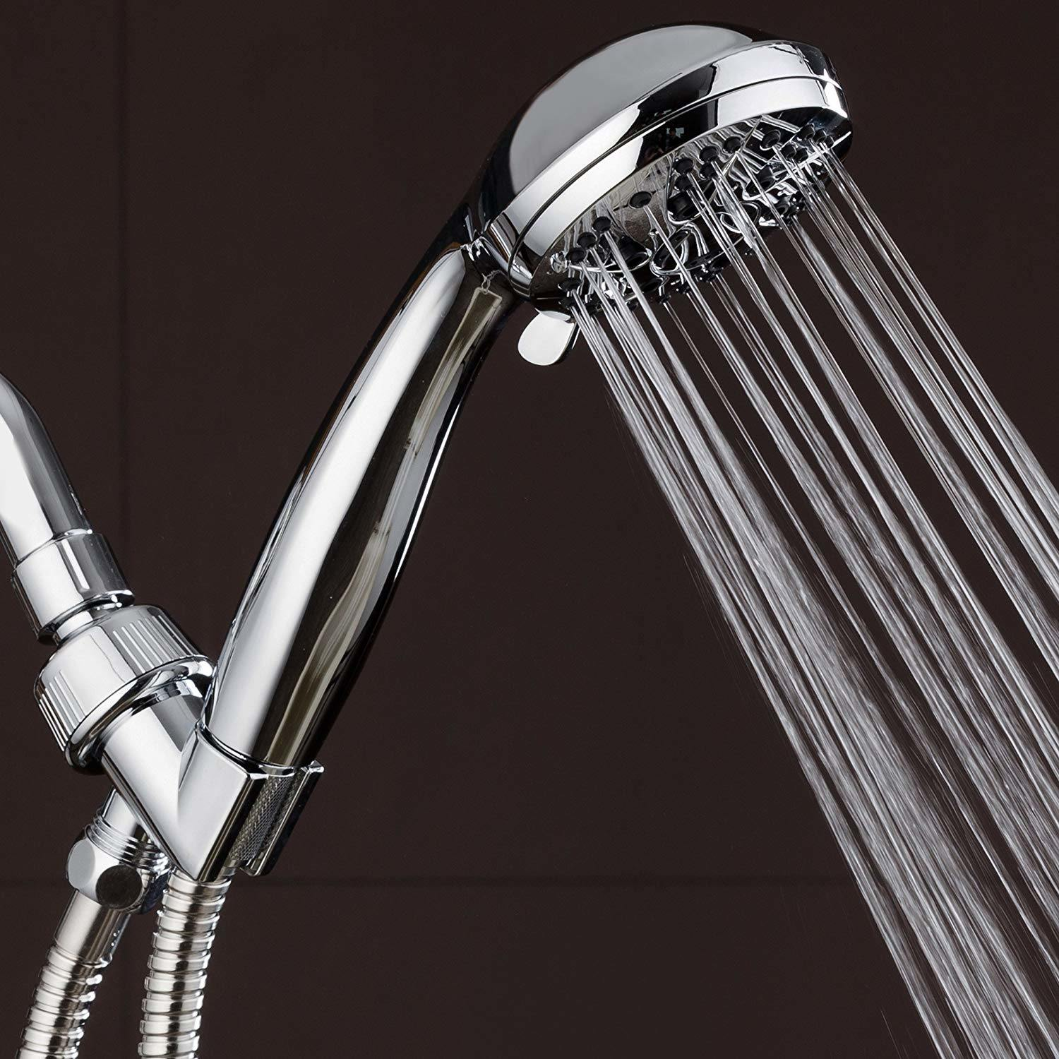 Hot Item Single Function Hand Shower Head Watersense Approved Water Saving Shower Head