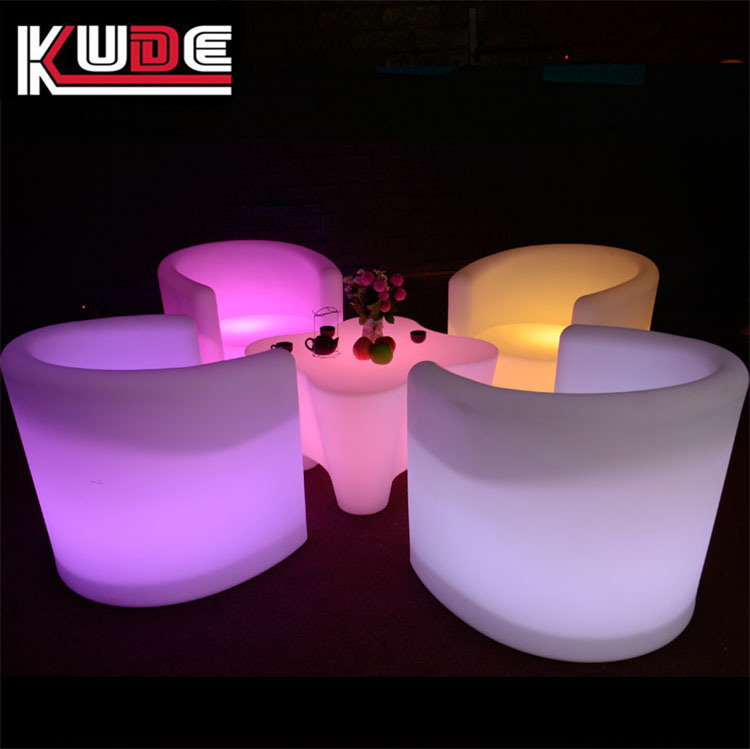 Glowing Furniture Set LED Table and Sofa pictures & photos