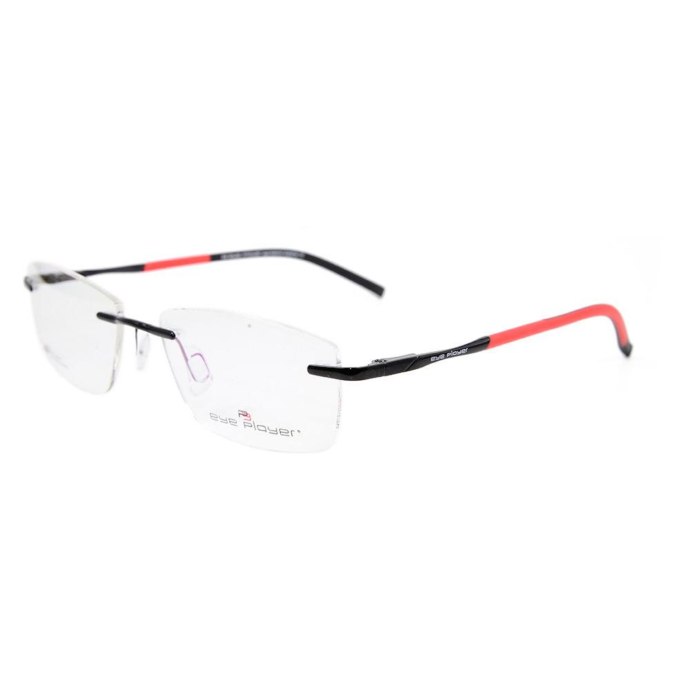 e3fbf7c127d5 China Wholesale Fashion Design Rimless Glasses Frames with Metal Optical  Frames for Men - China Optical Frame Eyewear