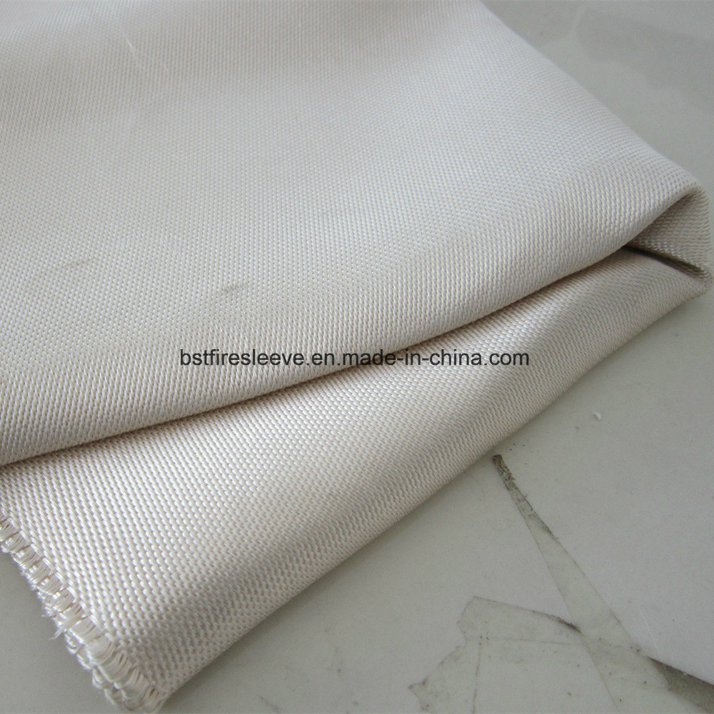 [Hot Item] Fireproof Adhesive Backed High Temperature Resistant Silica  Fabric Psa