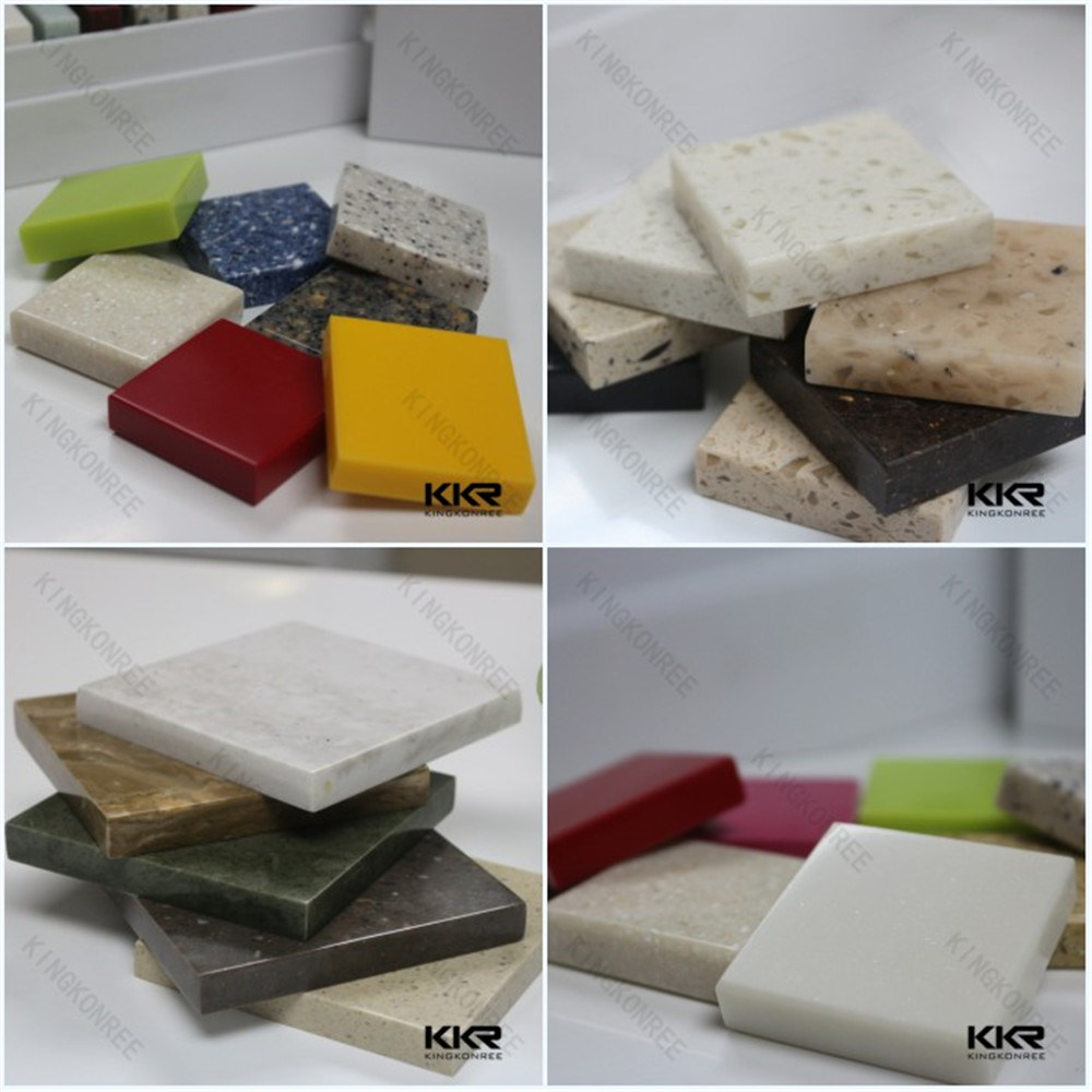 Artificial Marble Solid Surface Staron Building Material for Wall Panel