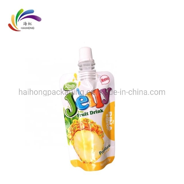 Customized Logo Printing Plastic Liquid Food Stand up Reusable Spout Pouch Bag pictures & photos