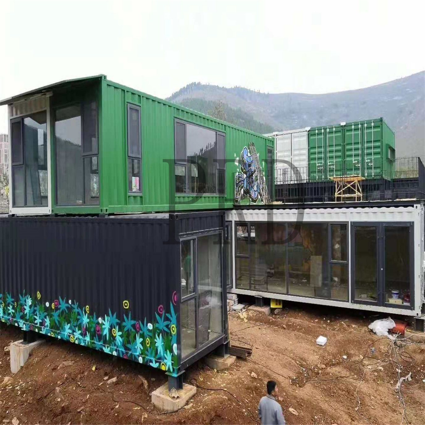 Modern Shipping Container Home [hot item] modural prefab shipping container house for luxury modern design  shipping container house