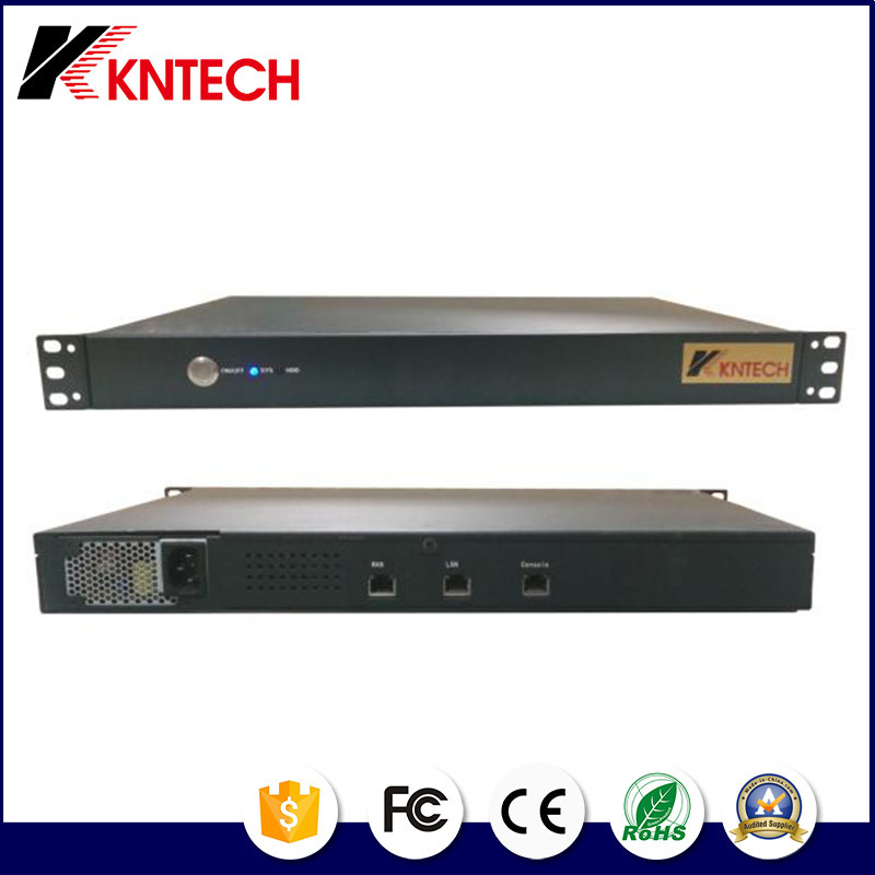 IP Pabx Server IP Kntech Integreate Kntd-3000 Page Server System