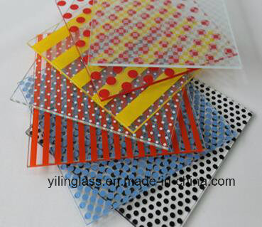 Color Patterns Painted Glass with Ce TUV Certificate pictures & photos