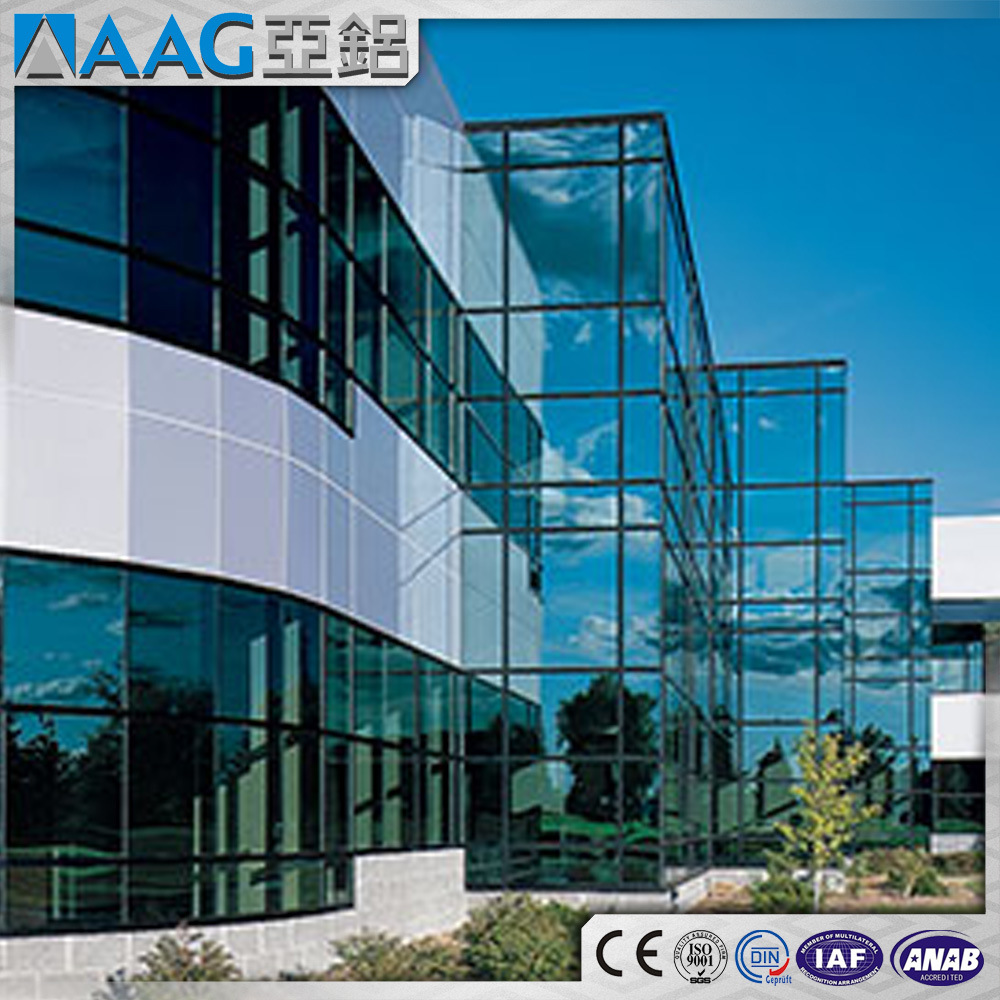 China Architecture Curtain Wall System/Construction Frame